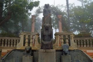 Sekhmet Egyptian Statue at Hearst Castle - Northern California