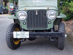 1946 Willys Jeep In Seattle (Handsomejimfrommaryland) Tags: 1946 wwii willys jeep army vintage nude blonde tits pussy armpit hair teen girl redhead latex toes feet