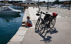 Krk-4762.jpg (harleyxxl) Tags: hafen karin inselkrk fahrrad meer küste kroatien krk primorskogoranskažupanija hr