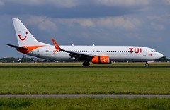 C-GOWG Boeing 737-86J SunWing Airlines leased by TUIFly (AMS/EHAM) (geoffrey.zdcki) Tags: cgowg tuifly