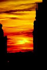 Hazy Manhattanhenge 72nd street view point 2018... (dannydalypix) Tags: dakotabuilding 72ndstreet gotham newyorkcity nyc manhattanhenge manhattan