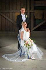 Wedding - Johan&Kajsa (Hans Olofsson) Tags: bröllop johankajsa kajsa kajsaochjohansbröllop söderåkra wedding naturligtljus lada naturellight barn sweden nikon