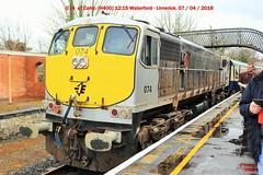 IR_04_2018_018 (HK 075) Tags: rpsi branch line wanderer railtour cie ir ie irish railways éireann iarnróid rail fanning class 071 121 141 181 201 diesel locomotive