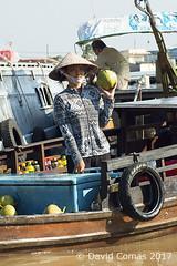Mekong Delta - Cần Thơ - Cai Rang Floating Market (CATDvd) Tags: catdvd davidcomas httpwwwdavidcomasnet httpwwwflickrcomphotoscatdvd september2017 cộnghòaxãhộichủnghĩaviệtnam repúblicasocialistadevietnam repúblicasocialistadelvietnam socialistrepublicofvietnam việtnam vietnam nikond70s social market mercado mercat rio deltadelmekong đồngbằngsôngcửulong mekongdelta cantho cầnthơ cairangfloatingmarket chợnổicáirăng mercatflotantdecairang mercadoflotantedecairang barca boat portrait retrat retrato