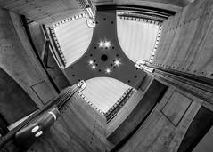 Inner Sanctum of Automobile Industry (USpecks_Photography) Tags: mercedesbenzmuseum museum mercedes mercedesbenz stuttgart neckarsulm carindustry automobile symmetry unstudio