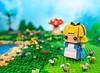Alice BrickHead in Wonderland (Baron Julius von Brunk) Tags: lego legoalice aliceinwonderland brickhead brickheadz