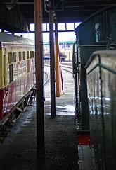 RD16336.  Fireman's View. (Ron Fisher) Tags: steam steamlocomotive steamengine locomotive locomotiveàvapeur dampflok gwr greatwesternrailway didcotrailwaycentre rail railway railroad eisenbahn chemindefer museum railwaymuseum