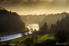 The Boyne Valley in the evening sunlight (mythicalireland) Tags: boyne river valley navan ardmulchan dunmoe sunset setting sun sunbeams light trees forest water shadows landscape meath ireland