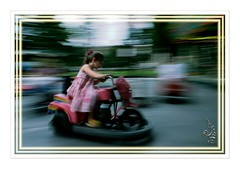 Faster, always faster (orichier) Tags: child play film color cityscape speed fair city game nancy lorraine france