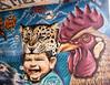 Graffiti-Kunst (Heidi St.) Tags: augen augenbraue eye face gemälde gesicht graffiti künstler mainz mainzkastel mann meetingofstyles theodorheussbrücke wandbemalung