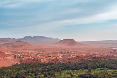 Tinghir, Morocco (T is for traveler) Tags: 1855mm 700d canon panoramic city morocco digitalnomad tisfortraveler travel traveler traveling backpacker exploration world tinghir sahara oasis view hotel desert africa destination photography