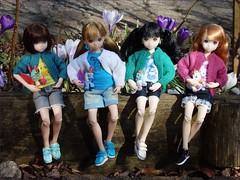 A-Z Challenge 2.0: F - Four of a Kind (jasminalexandra) Tags: petworks ruruko cardigan sneaker doll az challenge four kind