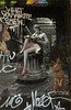 Lecture peinte (afantelin) Tags: paris13è iledefrance streetart femme assise peinture gris lapin animal tags lecture pochoir