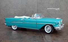 1955 Oldsmobile Super 88 Convertible (JCarnutz) Tags: 124scale diecast danburymint 1955 oldsmobile super88