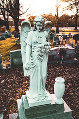Cemetery Angel (rickmcnelly) Tags: cemetery x100f graveyard angel