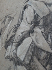 VAN DYCK Antoon - Homme, vu de dos, portant un Livre sous le bras, Etude(drawing, dessin, disegno-Louvre INV19914) - Detail 08 (L'art au présent) Tags: art painter peintre details détail détails detalles drawings dessins dessins17e 17thcenturydrawings louvre museum paris france dessinshollandais dutchdrawings dutchpainters peintreshollandais antoonvandyck antoon antoine anton book figure figures personnes people man men homme croquis étude study studies sketch sketches étudiant student