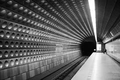 Solitude (Marwanhaddad) Tags: metro black white prague portrait