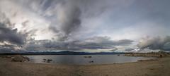 Valmayor. (Amparo Hervella) Tags: embalsedevalmayor comunidaddemadrid españa spain nube roca color naturaleza panorámica largaexposición d7000 nikon nikond7000