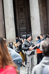 Rome Street Performance 1 (prouso) Tags: rome italy italianfood buildings history romans spaghetti ristorante canon70d streetphotography streetperformance cypriottravelling cypriottraveller