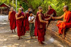 Lawka Nanda Temple Bagan  Myanmar-61 (Yasu Torigoe) Tags: lawkanandaisatieredgildedpagodawhichwasbuiltinthe11t mandalayregion myanmarburma mm lawkanandaisatieredgildedpagodawhichwasbuiltinthe11thcenturyandknownforitsenshrinedreplicaofbuddhastooth