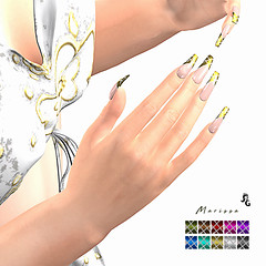 LuceMia - SlackGirl at EVENT-CRAZY-FASHION (MISS V♛ ITALY 2015 ♛ 4th runner up MVW 2015) Tags: slackgirl eventcrazyfashion event nails creations bento mesh marissa new blog beauty models lucemia