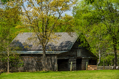 Old Barn At McDaniels Farm Park (randyherring) Tags: park farm historic woods trees recreation nature relaxing hiking rural historical agricultural buildings countryside