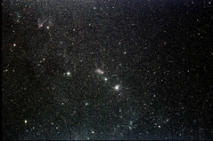 Regional Detail of LMC (Ggreybeard) Tags: skywatcher ed120 astronomy large magellanic cloud largemagellaniccloud ngc1856 ngc1858 ngc1855 ngc1854 ngc1850 galaxy lmc celestial image astroimage astrometrydotnet:id=nova2514407 astrometrydotnet:status=solved