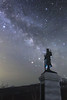 2518 (Keiichi T) Tags: 空 星空 天の川 milkyway 6d cloud mountain 雲 winter night 山 shadow eos 光 canon 日本 影 夜空 星 star japan light sky 夜
