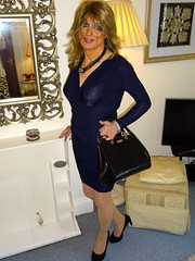 Charlotte's First Time Out (Julie Bracken) Tags: satin kelayla transvista cd tgurl feminized xdresser mature old tv portrait hair red fashion transvestite mini skirt transgender m2f mtf transsisters enfemme ginger redhead party tranny trannie heels nylon julieb85 crossdressing crossdresser tgirl feminised 2018 kinky pantyhose crossdress polyamorous lgbt kelayla03