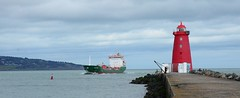 Dublin Port & Great South Wall 2018 035 (finbarzapek / SeanC) Tags: dublin port great south wall irish ferries ulysses seatruck power stena adventurer poolbeg lighthouse ireland ship ferry stenaline superfast line
