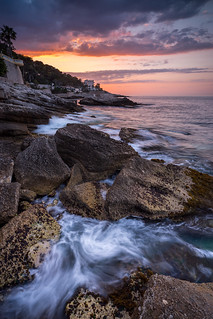 Shore line sunrise