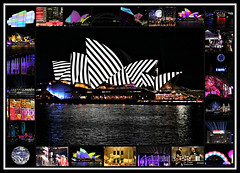 2018 Vivid Sydney (dominotic) Tags: 2018 vividsydney lightingthesails harmonyvalley madeofthis foodtrucks metamathemagical skylark earth sydneyoperahouse virtualvibration sydneyharbourbridge sydney nsw australia circularquay sydneyharbour vividlight lightinstallations art festival animation lighting light lightprojection colour festivaloflight afterdark night winterfestival nightlighting harbourlights thenightreimagined luminousflight mca thenautilusforest movement blur collage