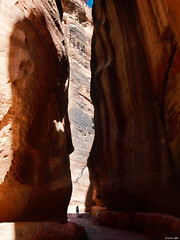 Wandering In Rose-red city Part I (Constantinos_A) Tags: rosered rocks jordan petra travel landscape keyhole ancient ruins outdoors