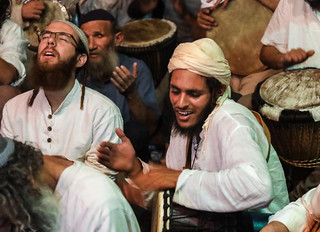 No wonder all religions use music (often, drums): it can enter you into an ecstasy…