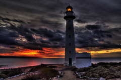 the guardian (bon97900) Tags: pointlowlylighthouse coastalshots lighthouse whyalla