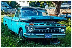 Ford (garywitte845) Tags: ford pickup truck sliders happyslidersunday hss artistic texture