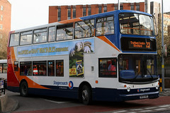 18383 MX55 KRZ 23 (Cumberland Patriot) Tags: stagecoach north west england greater manchester south buses stockport dennis trident alexander alx 400 alx400