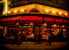 Le Danton (Daniel Meraviglia-C.) Tags: paris france francia urban urbanphotography streetphotography steet café postcard travelphotography