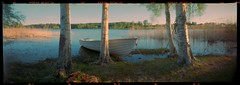 Time to row out (cotnari73) Tags: pinhole rss6x17 ektar c41 hälsingland sweden explore