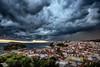 Thunderstorm Skiathos (Danijel Jovanovic Photography) Tags: skiathos thunderstorm storm lightning gewitter sky rain blitz sony greece weather