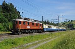 205 - Mülenen (CH) 10/06/18 (James Welham) Tags: mülenen 30115 switzerland bernese oberland lötschberg ae 68 205 bls spiez frutigen burgdorf brig