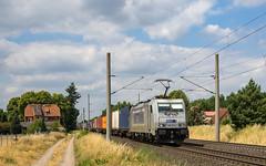 Schwanheide Metrans 386 015-2 Container (Wolfgang Schrade) Tags: metrans br186 3860152 containerzug container altenwerder kbs100 schwanheide zug güterzug eisenbahn
