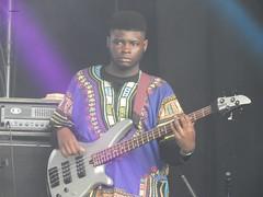 GRUMPY BASS (garydavidworthington) Tags: liverpool uk africaoye music unite creative colour people photography guitar band costume nifecocosta oye18