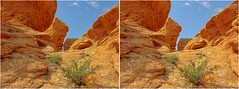 Red Buttes (explored!) (turbguy - pro) Tags: 3d crosseye stereo laramie wyoming