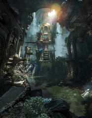 The Lost Tomb of The Prophet (D U B L) Tags: rise tomb raider crystal dynamics eidos montréal north syria pano panorama square enix rottr 4k the prophets syrian