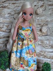 New Sd items added to my shop <3 (DebiDooDoll) Tags: smart doll sana mario bros dress seaside beach sundress