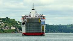 18 06 20 BF Connemara departing Ringaskiddy (44) (pghcork) Tags: brittanyferries connemara ferry carferry cork corkharbour cobh ringaskiddy 2018 ireland ships shipping ship
