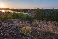 Inks-Lake-Sunset-HDR-1 (Jason Frels) Tags: landscape flowers hdr inkslake lake sunset texas