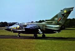 Tornado GR-1 ZD715/DB 31Sq Royal-Air-Force-Germany/ RAFG. Soesterberg Air Base. The Netherlands. 10-07-1987. (Aircraft throughout the years) Tags: tornado gr1 zd715 db 31sq royalairforcegermany rafg raf soesterberg air base ab the netherlands 1987
