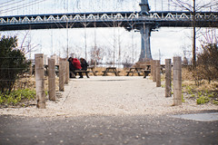 Dumbo (jollyfoxey) Tags: dumbo nyc iconic postcard new york streets streetphotography architecture bridge people street view popular